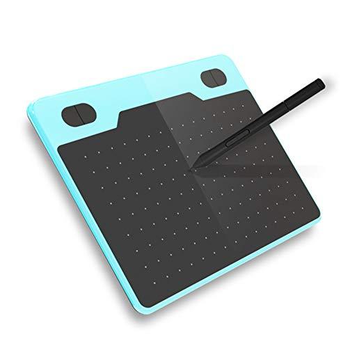 SRMTS Tableta GráFica fe Dibujo con BolíGrafo Sin BateríA de 8192 Niveles,Ideal para EducacióN en LíNea, Trabajo de Oficina,Azul