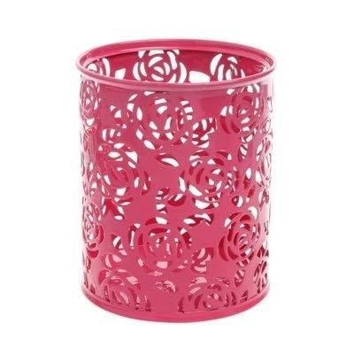 DASFNVBIDFAHB Boîte de maquillage, maquillage brosse creux Organisateur (Color : Rose Red)