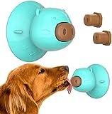 Xnelly Dog Chew Toy, giocattolo per cani a ventosa, per il bagno, la cura e l'addestramento dei cani, con 3 pezzi