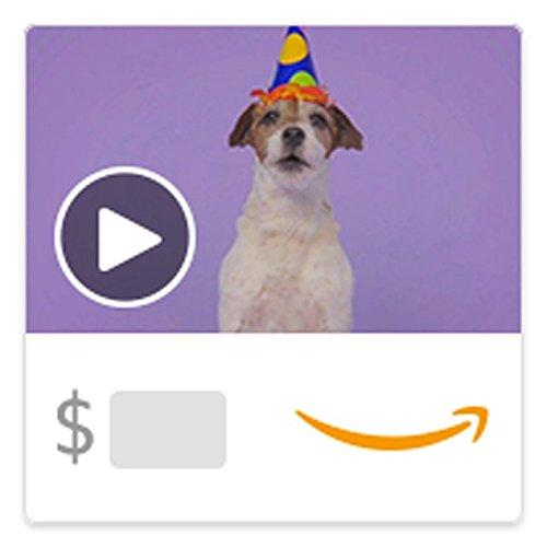 Amazon eGift Card - Woofy Birthday (Animated) [American Greetings]
