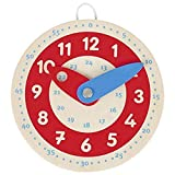 goki Lernuhr Learn to Tell The Time, 58485, gemischt, 10 cm