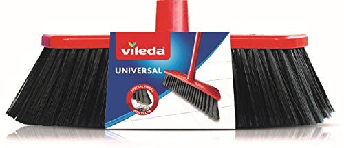 Vileda Recambio Cepillo Universal, Rojo y Negro