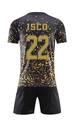 WWLONG 19 Camiseta de edición Especial Conjunta 10# Modric Ropa Deportiva de fútbol, el Traje de Entrenamiento para niños Adultos se Puede Personalizar-Custommade-S