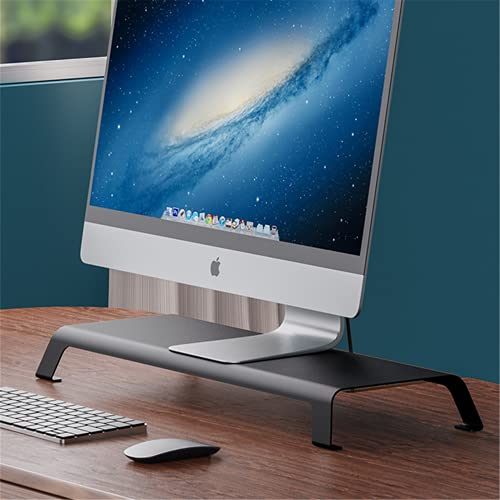 Soporte del Monitor Soporte De Soporte De Monitor De Aluminio para Impresora LCD, Organizador De Mesa Plataforma Robusta | Titular del MonitorSoporte para Computadora para Monitores