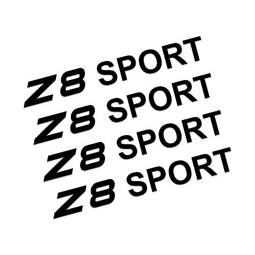 Etiquetas engomadas de las rayas de las llantas Compatible con BMW M1 Homage 40i M2 F87 M3 E90 E92 M4 M5 M6 Z1 Z3 E36 Z4 E89 Z8 E52 Auto Accesorios Automóviles 4pcs Wheel Rueda RIM Pegatina Vinilo Cal