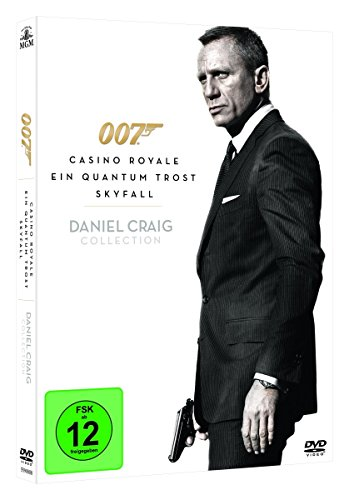 Daniel Craig – James Bond Collection (inkl. Skyfall, Casino Royale, Ein Quantum Trost) (3 DVDs)