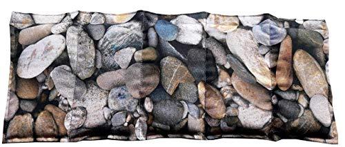 Körnerkissen Kühlkissen Hirse Wärmekissen Hirsekissen Steine 100% Baumwolle 200g/qm 50x20