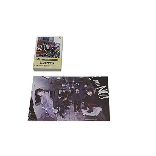 Stray Kids K-pop - Juego de mini tarjetas con foto y llavero