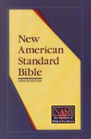New American Standard Ultrathin Reference Bible; Burgundy Genuine Leather