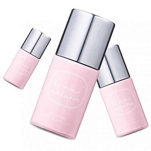 Le Mini Macaron • Vernis à Ongles UV 3 en 1 • Nail Gel Semi-Permanent • Séchage LED • Fairy Floss Couleur Rose Pâle • 10ml