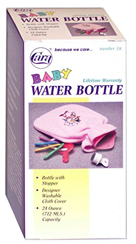 Cara Baby Hot Cold Water Bottle with Cloth Cover