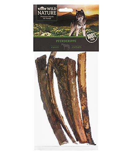 Dehner Wild Nature hondensnack, paardenippen, 200 g