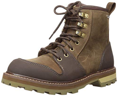 Muck Boot Men's Lineman Rain Boot, Brown, 10