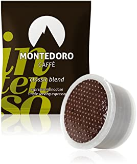 Montedoro Intenso - 100 Capsule Compatible with Lavazza Point Matinee - Classic Blend