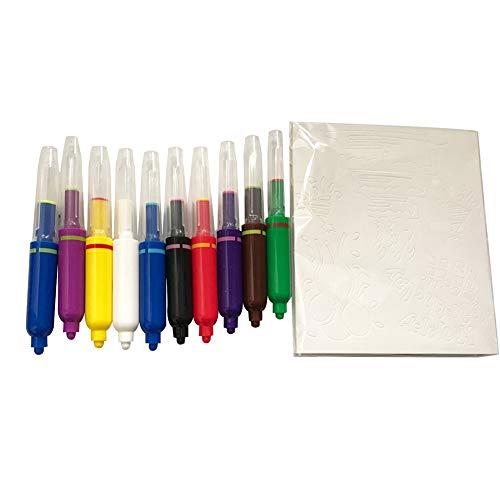 newhashiqi aquarel pen, 10 stuks/set van aquarel pennen kinderen gekleurde potloden schrijven graffiti schilderij gereedschap school benodigdheden