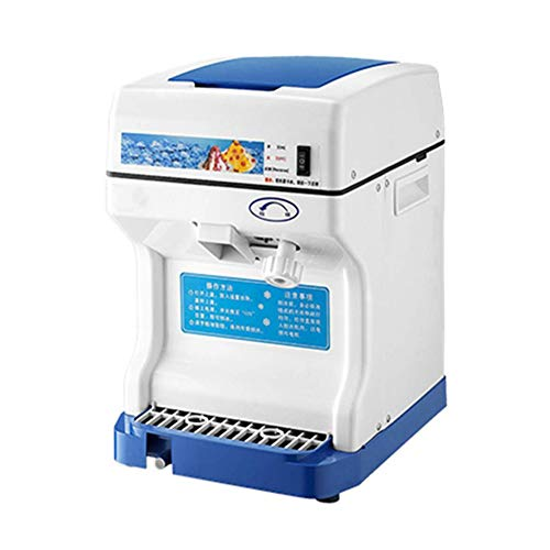 Ice blender Commercial Ice Shaver High Capacity Snow Cone Maker Thickness Adjustable Ice Shaving Machine Automatic Shaved Ice Crusher,One-button Switch,easy to Use best gift