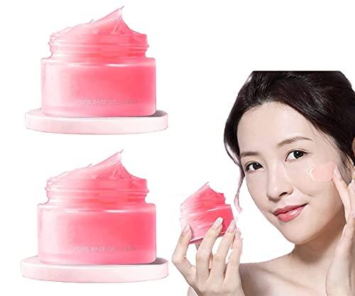 MRLZLT 2 Piezas de imprimación Facial Debajo de la Base, Crema retráctil de poros Base mágica de perfeccionamiento, Crema de Piel para estimular el Cutis Poros + Aliviar la sequedad + Hidratante