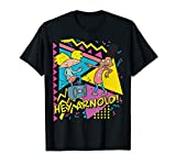Nickelodeon Hey Arnold 90's Party Poster T-Shirt