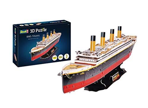 Revell- RMS Titanic, Longitud 80,0cm 3D Puzzle, Multicolor (00170)
