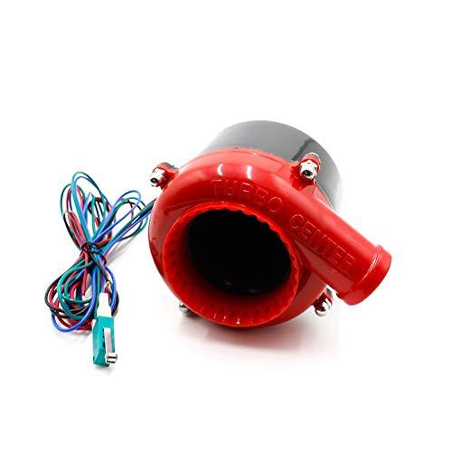 HXFANG Electronic Coche de Turbo Falso válvula de Descarga Turbo Blow Off...