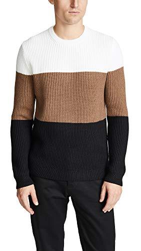 Theory Men's Romman Sweater, White Multi, Medium