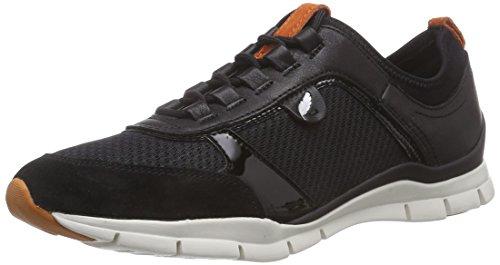 Geox D Sukie - Zapatillas de deporte para mujer, color negro, talla...