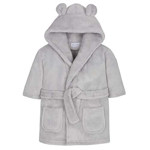 STC Stores Baby-Bademantel aus Fleece Gr. 92, grau