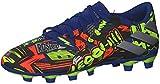adidas Nemeziz Messi 19.4 FxG, Zapatillas de fútbol Hombre, AZUREA/Plamet/Amasol, 42 2/3 EU
