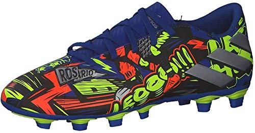 adidas Nemeziz Messi 19.4 FxG, Zapatillas de fútbol Hombre, AZUREA/Plamet/Amasol, 45 1/3 EU