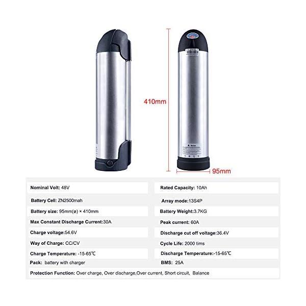 41S85dhG87L. SS600  - Junstar-EU ElektroFahrrad Batterie 48V 10/11.6/17.5/17.5Ah mit Fahrradablage EBike Akku Ebike Lithium Batterie mit Fahrradträger