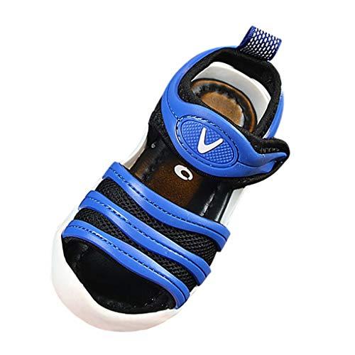 YWLINK Aire Libre Sandalias Deportivas Verano El Comercio Exterior De Los NiñOs Baotou Suave Inferior Sandalias Casuales Zapatos De Playa Blanco, Rojo, Azul, Rosa 21-30