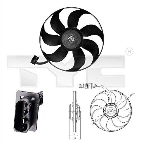 Ventilateur, refroidissement du moteur A3 (09/1996 - 05/2003)