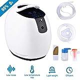 S SMAUTOP Sauerstoffkonzentrator, 1-6L / min einstellbare tragbare Sauerstoffmaschine für den Heim- und Reisegebrauch