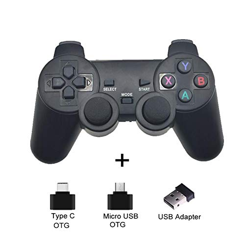 NA Gamepad inalámbrico para teléfono Android/Pc / Ps3 / TV Box Joystick 2.4G Joypad Game Controller para Xiaomi Smart Phone Accesorios para Juegos