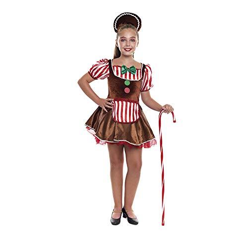 Disfraz Muñeca Ginger Navidad para niña 2-4 años