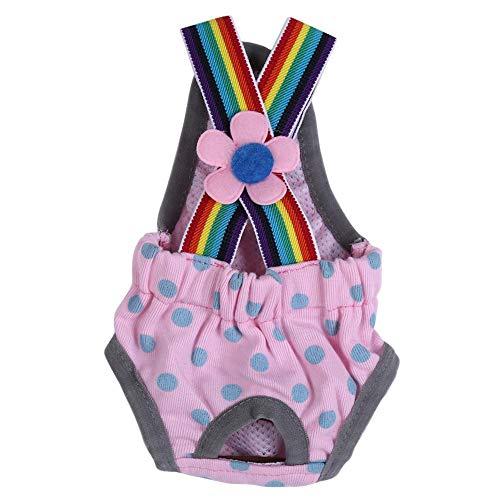 Hündin Windel Windel Physiologische Hygiene Menstruationsspanner Unterwäsche Unterhose, Verhindert, dass sich der Hund nach Belieben in Estrus paart, um schwanger zu werden Halten Sie Ihren(M)