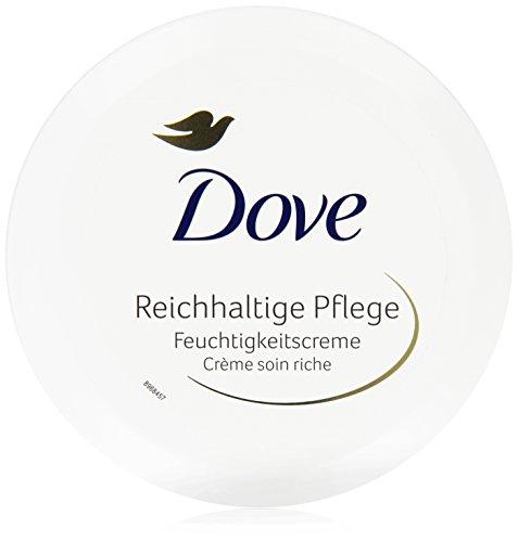 Dove Feuchtigkeitscreme Reichhaltige Pflege, 150 ml