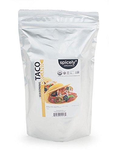 Spicely Organic Taco Seasoning 1 Lb Bag Certified Gluten Free
