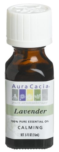 Aura Cacia, Essential Oil, Lavender, .5 oz