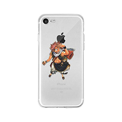 LXXTK Anime Fairy Tail TPU Soft Funda iPhone Case A5 For Funda iPhone 5 5S SE