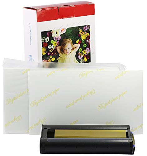 Bubprint Druckerkartusche + Fotopapier kompatibel zu Canon KP-36IP KP-36IN für Selphy CP1300 CP1000 CP1200 CP300 CP510 CP740 CP760 CP780 CP800 CP900