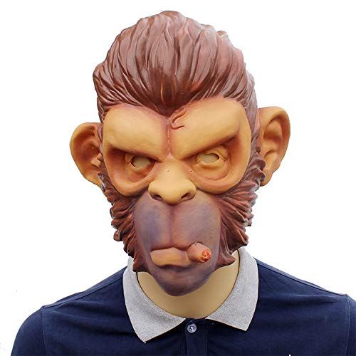 TYXCCTV Halloween Maske Latex Hood Orang Maske