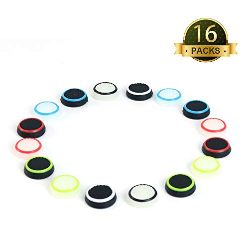 My Genik Silicone Accessories Replacement Parts Thumb Grip Cap Cover For PS2, PS3, PS4, XBOX360 Controller