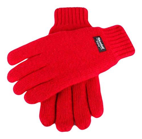 Dents Berry unis gants tricotés - Grand de