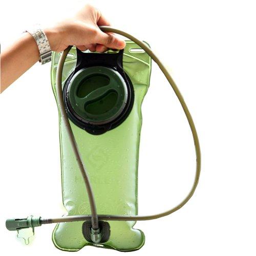 bonbonne d eau/marche/camping bouteille sport, 2 L/vert