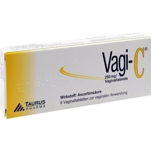 Vagi-C Vaginaltabletten, 6 St.