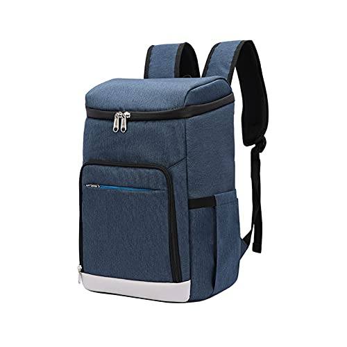QSDGFH Backpack Cooler,Lightweight Insulated Backpack Cooler Leak proof Soft Cooler Bag for Lunch Large Capacity Men Women to Picnics Camping Hiking Beach