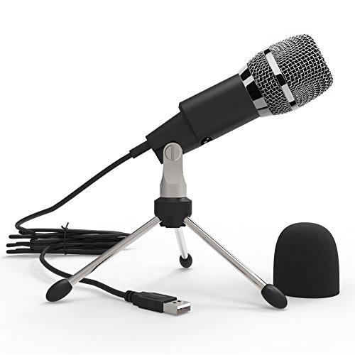 Dansrue Home Studio USB Condenser Microphone