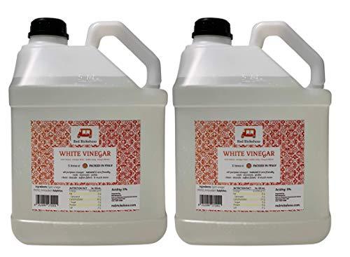 Red Rickshaw White Vinegar for Pickling, Marinating & Cooking - 5 Litre Bottle (2 Pack)