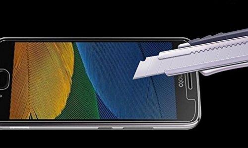 2x Lenovo Moto G5 Protectores de Pantalla, EJBOTH Vidrio templado Proyectar película protectora Cristal Transparente invisible Escudo protector de la pantalla celular para Motorola Moto G5: Amazon.es: Electrónica